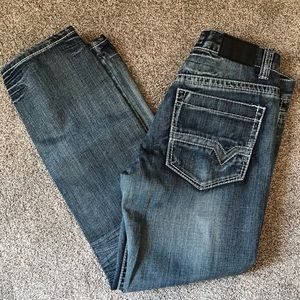 Earl Jeans with accent stitching, size 34/32.